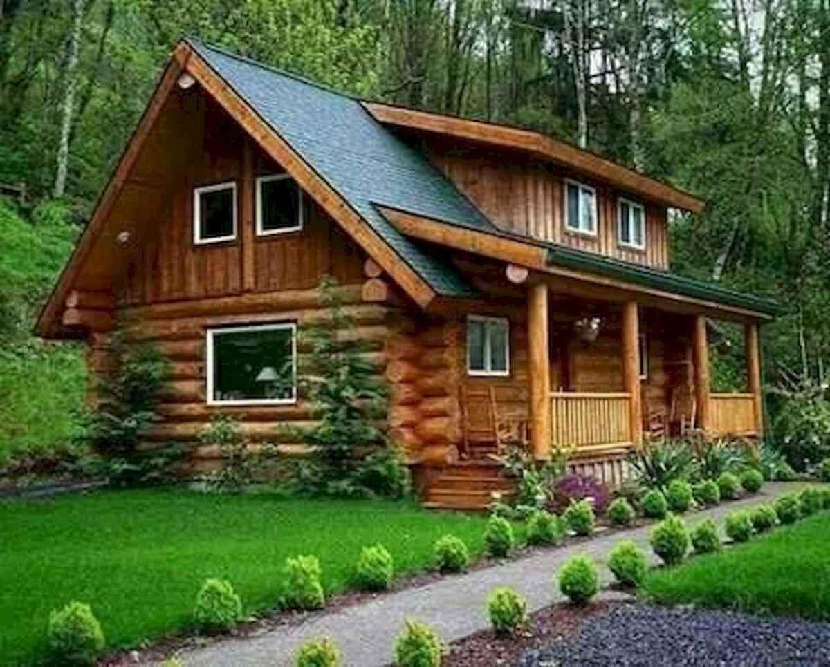 75 Best Log Cabin Homes Plans Design Ideas (11)