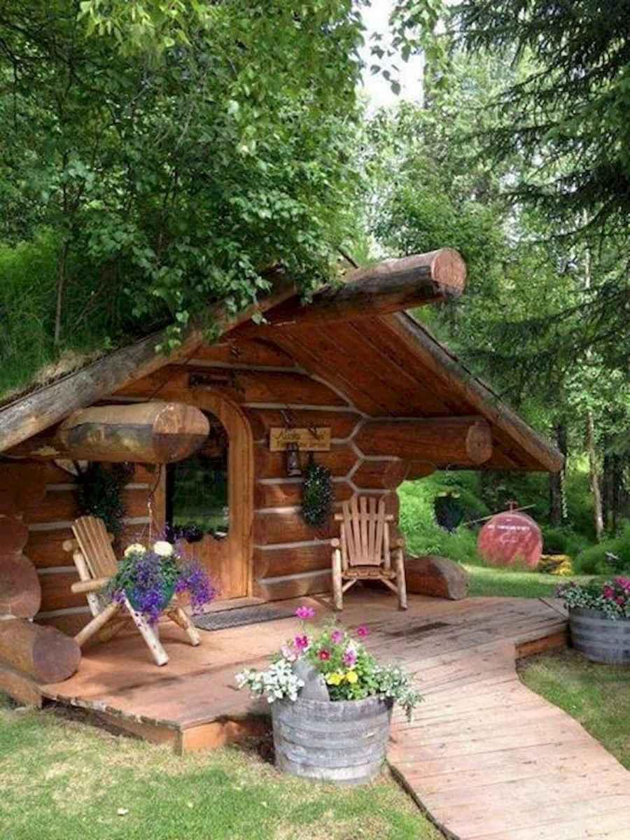 75 Best Log Cabin Homes Plans Design Ideas (13)