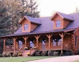 75 Best Log Cabin Homes Plans Design Ideas (26)