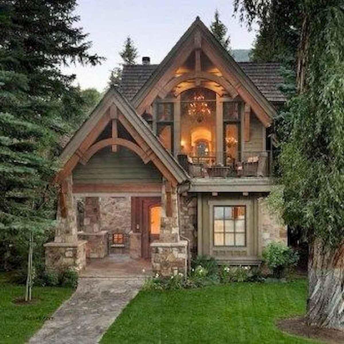 75 Best Log Cabin Homes Plans Design Ideas (28)