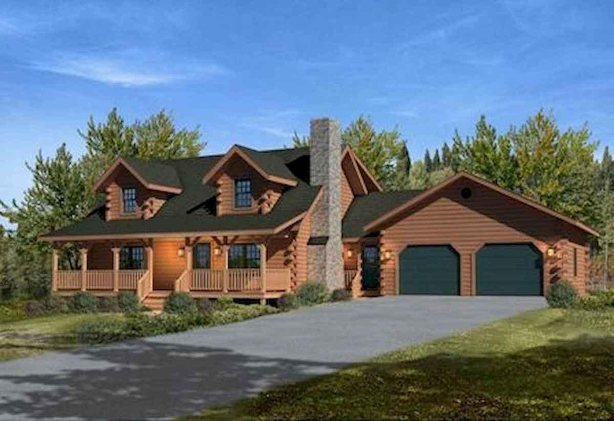 75 Best Log Cabin Homes Plans Design Ideas (36)