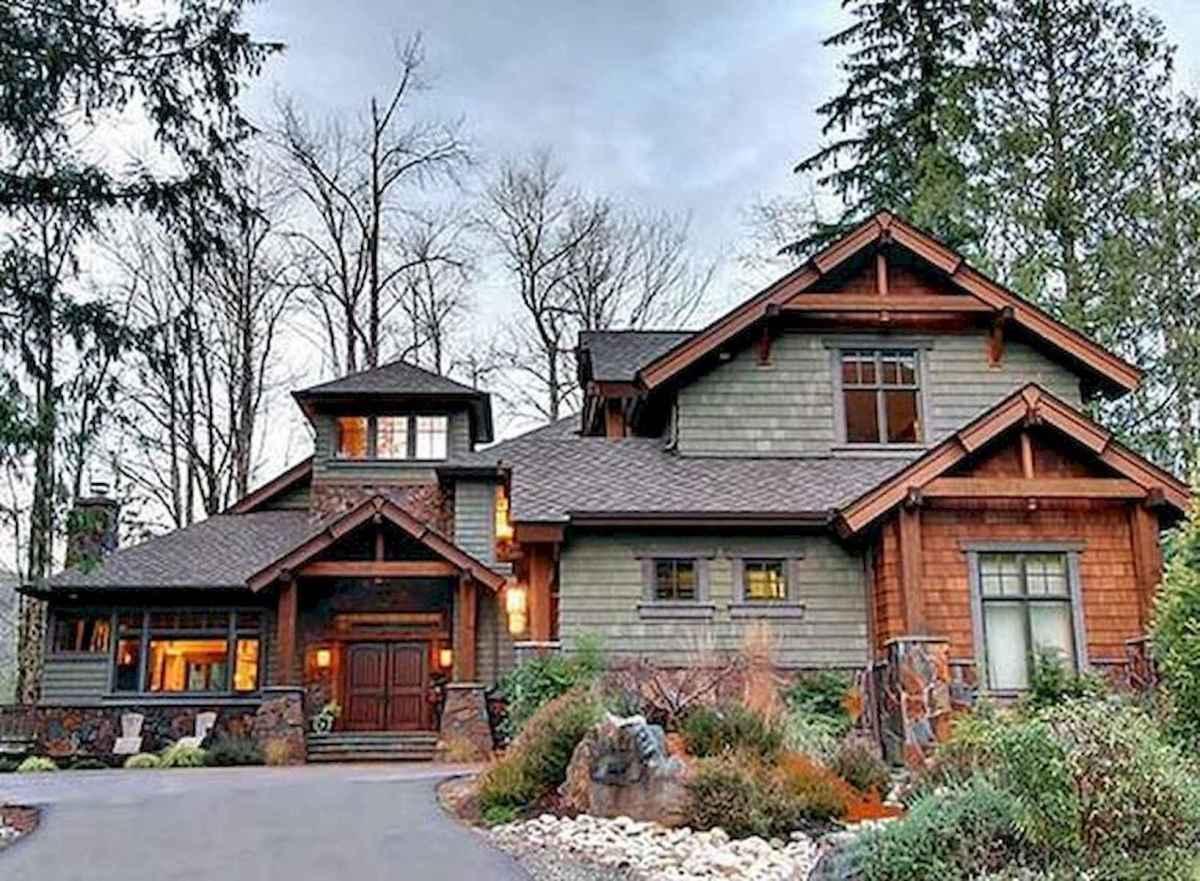 75 Best Log Cabin Homes Plans Design Ideas (38)