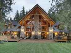 75 Best Log Cabin Homes Plans Design Ideas (49)
