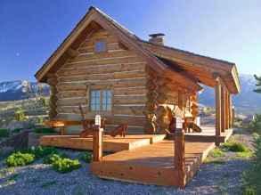 75 Best Log Cabin Homes Plans Design Ideas (60)