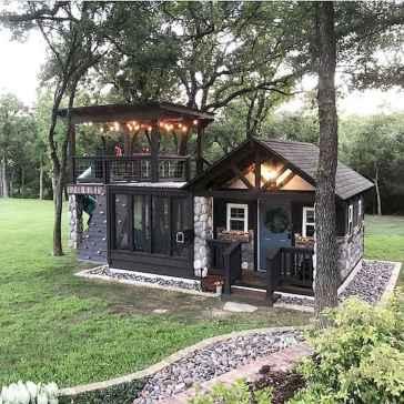 75 Best Log Cabin Homes Plans Design Ideas (72)