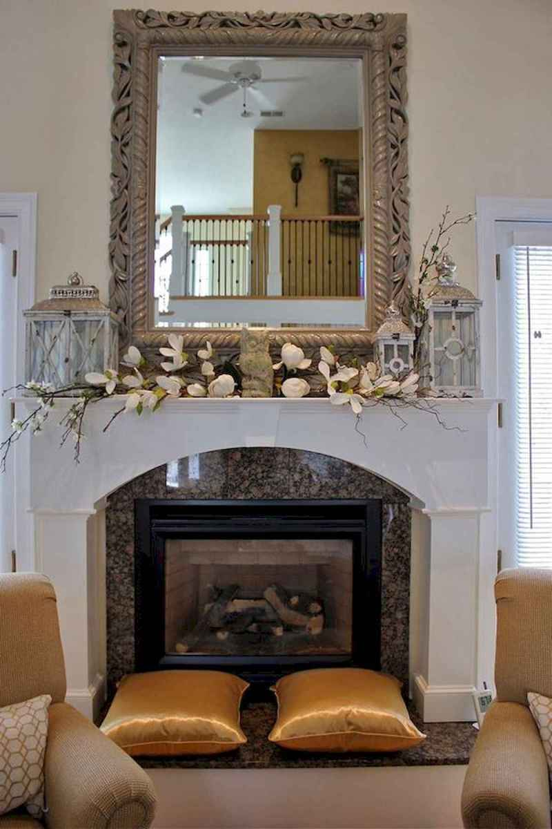 35 Best Easter Fireplace Mantle Decor Ideas (29)