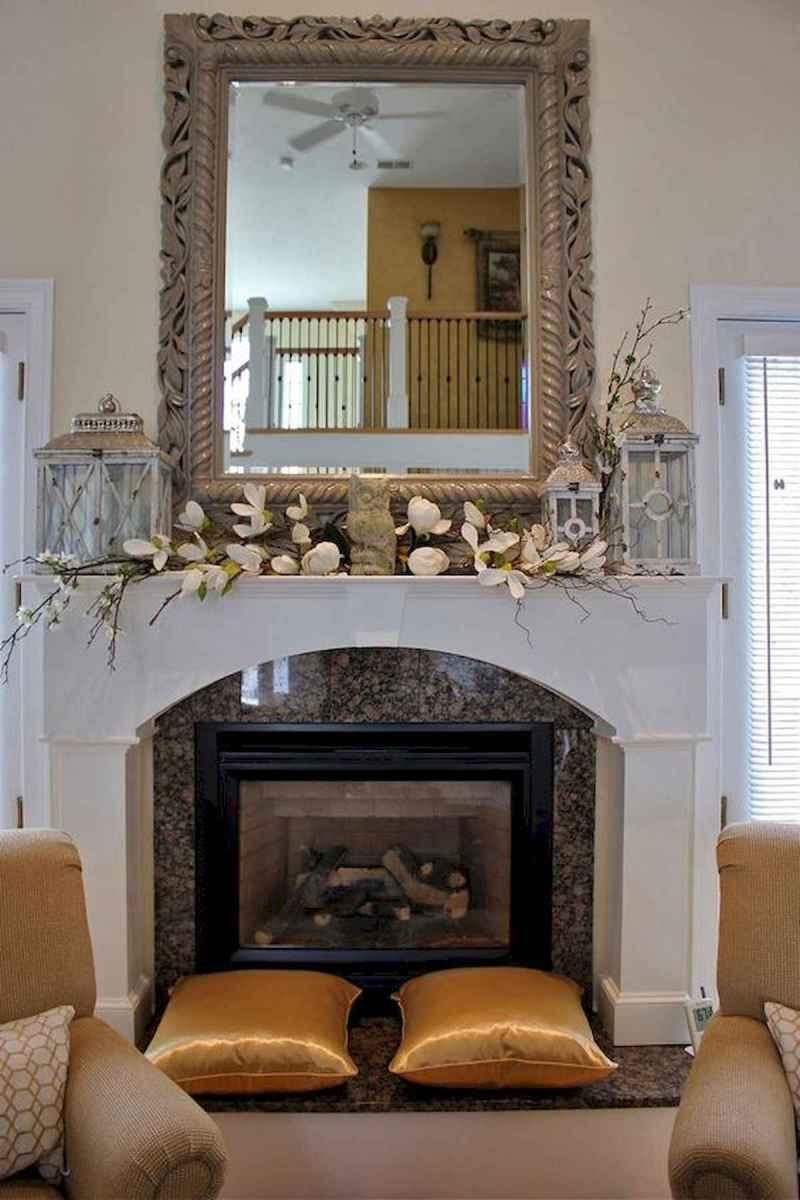 35 Best Easter Fireplace Mantle Decor Ideas (29)