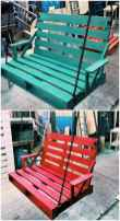 50 Amazing DIY Projects Pallet Swings Design Ideas (11)