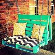 50 Amazing DIY Projects Pallet Swings Design Ideas (18)