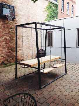 50 Amazing DIY Projects Pallet Swings Design Ideas (35)