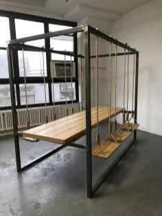 50 Amazing DIY Projects Pallet Swings Design Ideas (38)