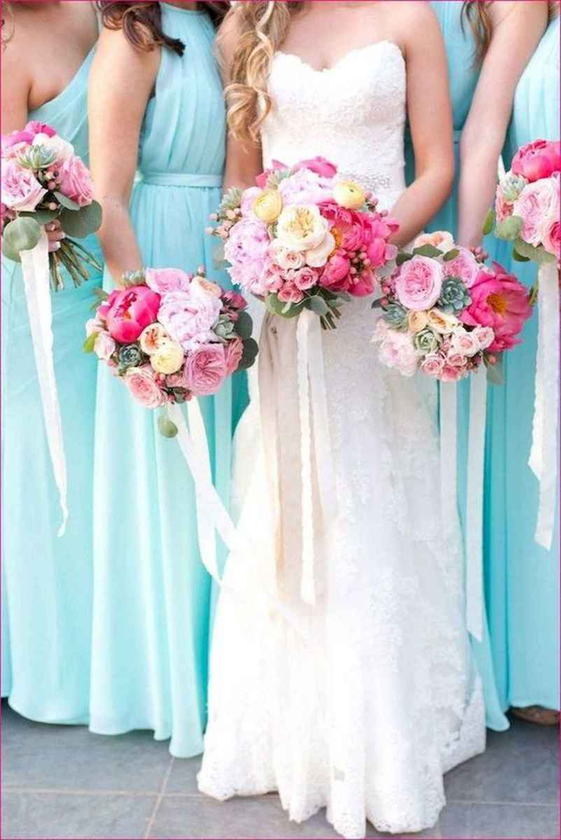50 Beautiful Spring Bridesmaid Bouquets for Wedding Ideas (22)