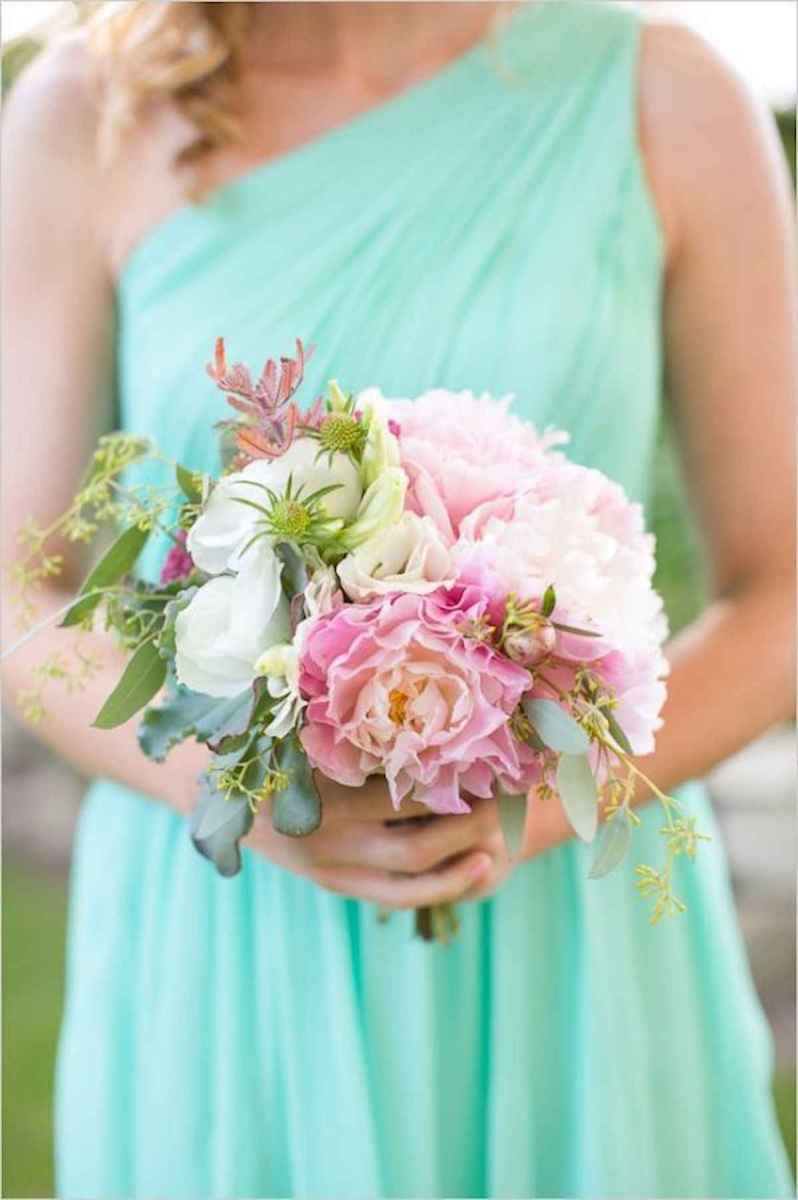 50 Beautiful Spring Bridesmaid Bouquets for Wedding Ideas (33)