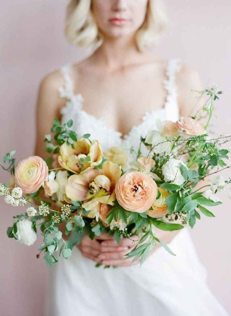 50 Beautiful Spring Bridesmaid Bouquets for Wedding Ideas (4)