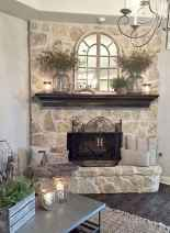 50 Beautiful Spring Mantle Decorating Ideas (22)