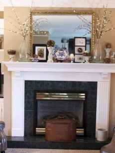 50 Beautiful Spring Mantle Decorating Ideas (31)