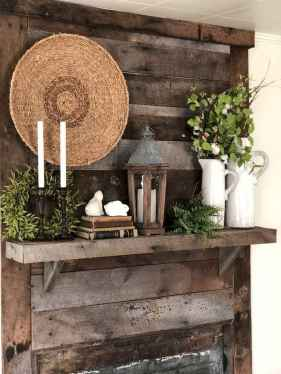 50 Beautiful Spring Mantle Decorating Ideas (44)
