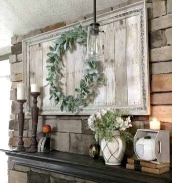 50 Beautiful Spring Mantle Decorating Ideas (45)