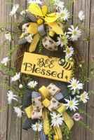 50 Beautiful Spring Wreaths Decor Ideas and Design (1)