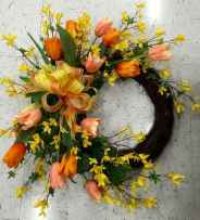 50 Beautiful Spring Wreaths Decor Ideas and Design (42)