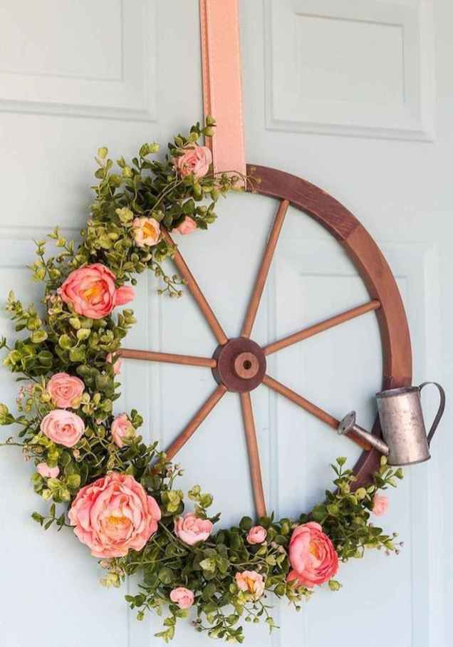 50 Beautiful Spring Wreaths Decor Ideas and Design (53)