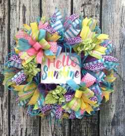 50 Beautiful Spring Wreaths Decor Ideas and Design (7)