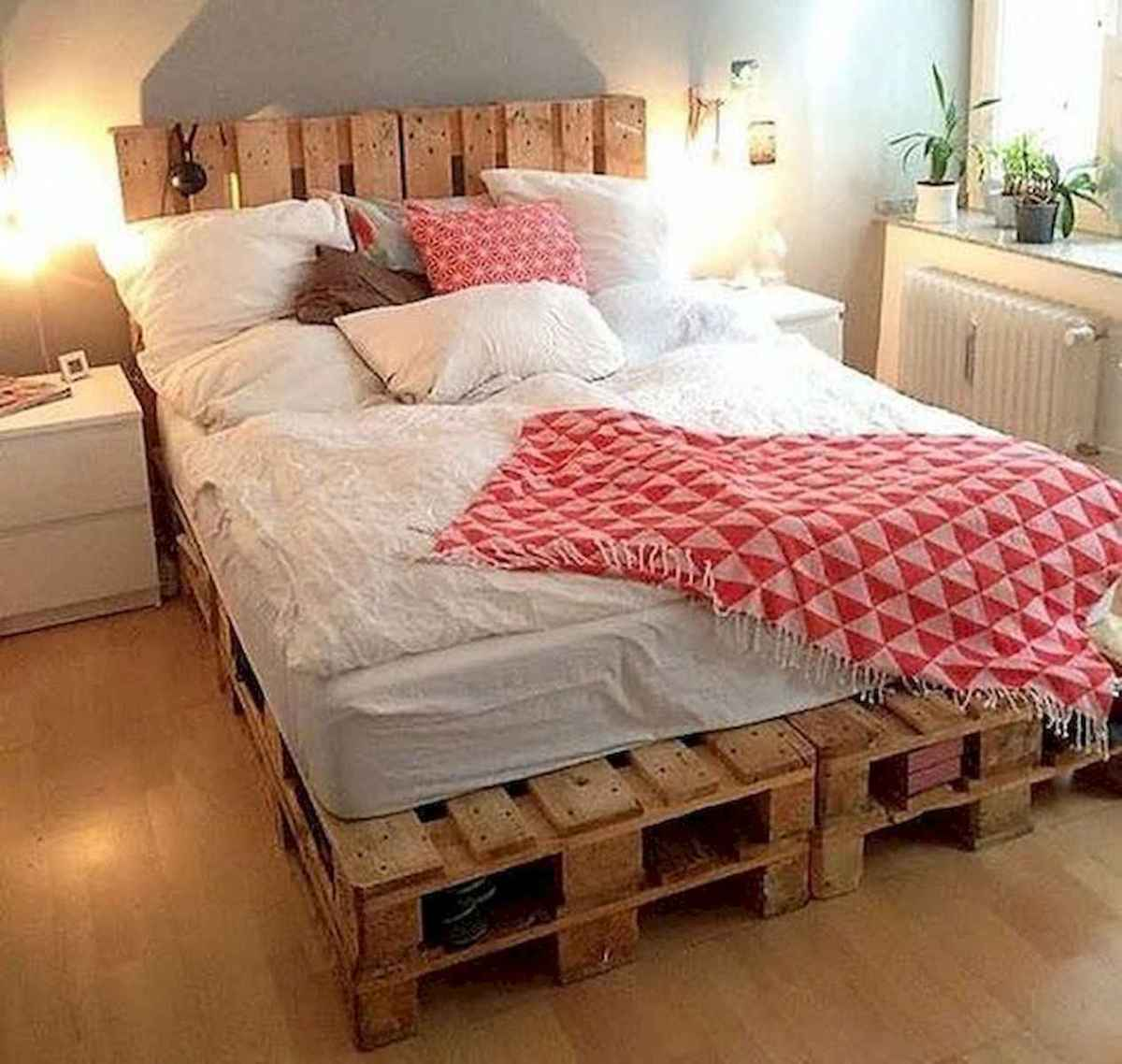 50 Creative Recycled DIY Projects Pallet Beds Design Ideas (13)