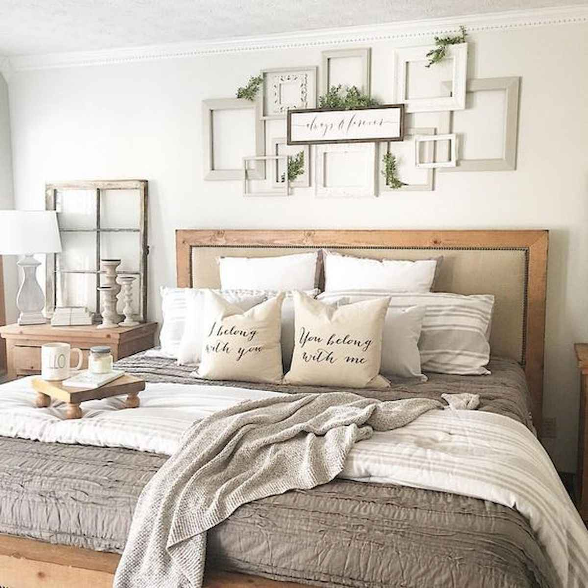 50 Favorite Bedding for Farmhouse Bedroom Design Ideas and Decor (38)