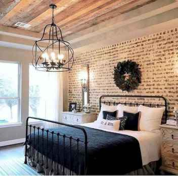 50 Favorite Bedding for Farmhouse Bedroom Design Ideas and Decor (39)