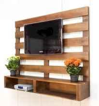 50 Favorite DIY Projects Pallet TV Stand Plans Design Ideas (34)