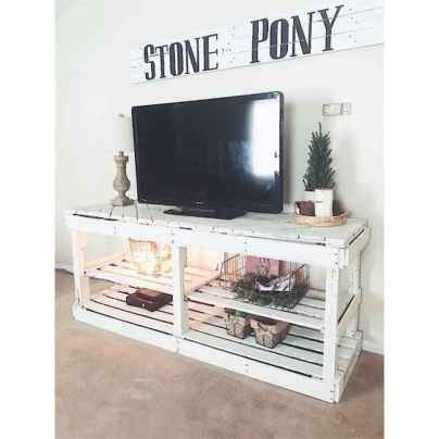 50 Favorite DIY Projects Pallet TV Stand Plans Design Ideas (37)