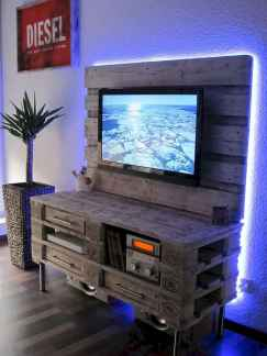 50 Favorite DIY Projects Pallet TV Stand Plans Design Ideas (40)