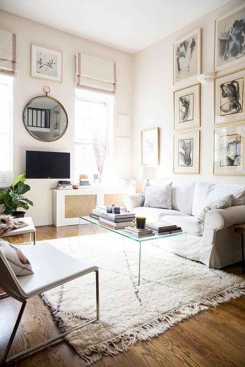 50+ Genius Small Living Room Decor Ideas And Remodel for Your First Apartment (11)