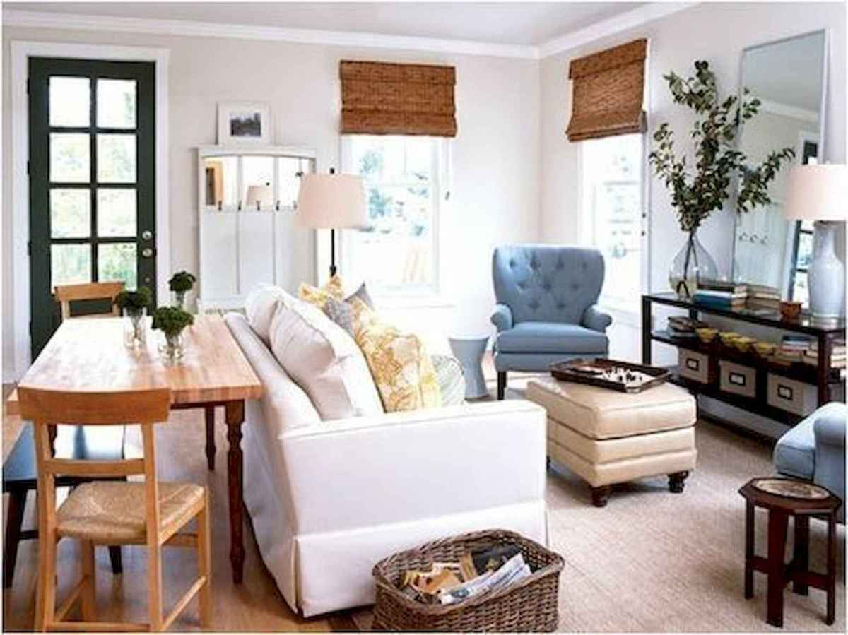 50+ Genius Small Living Room Decor Ideas And Remodel for Your First Apartment (12)