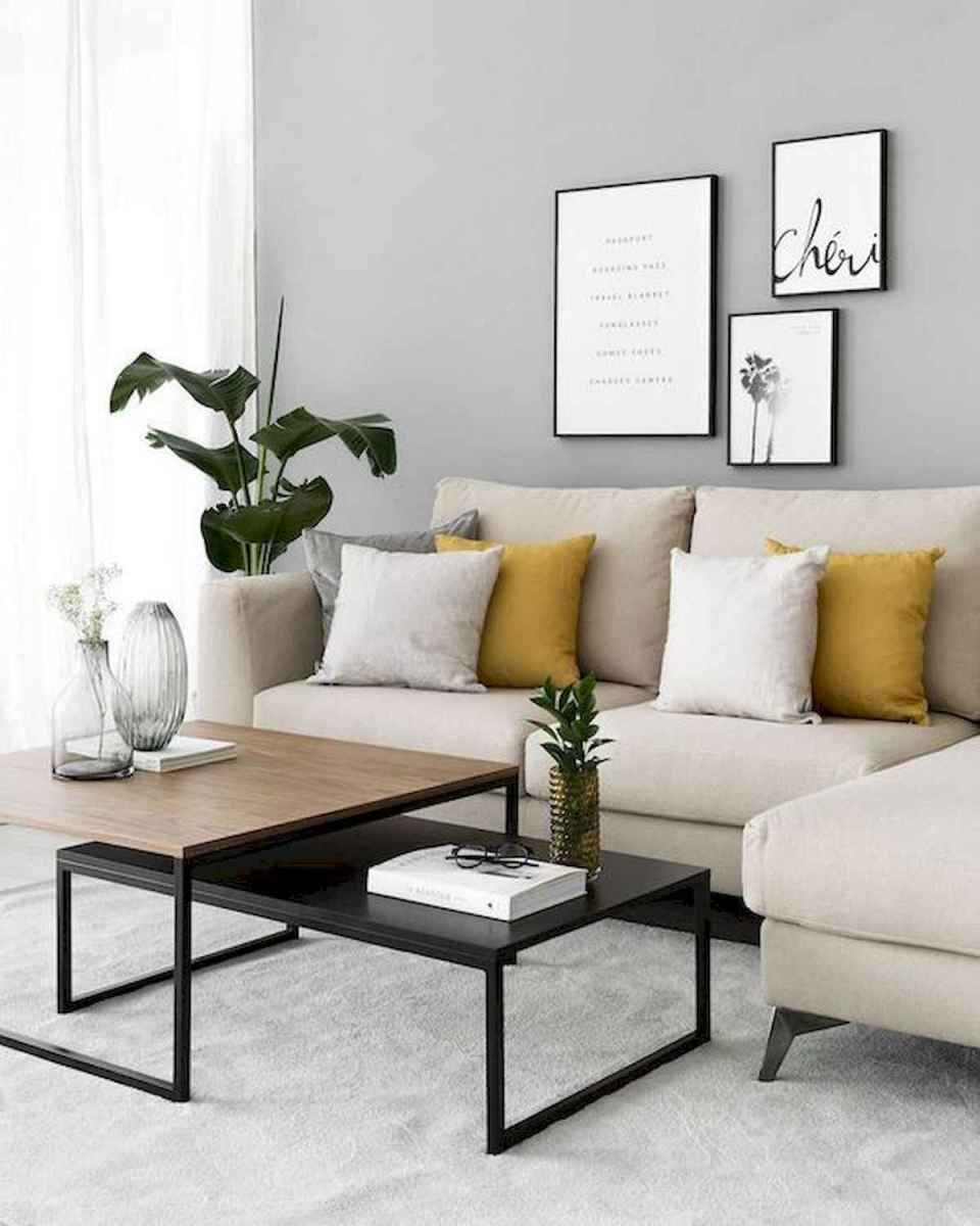 50+ Genius Small Living Room Decor Ideas And Remodel for Your First Apartment (18)