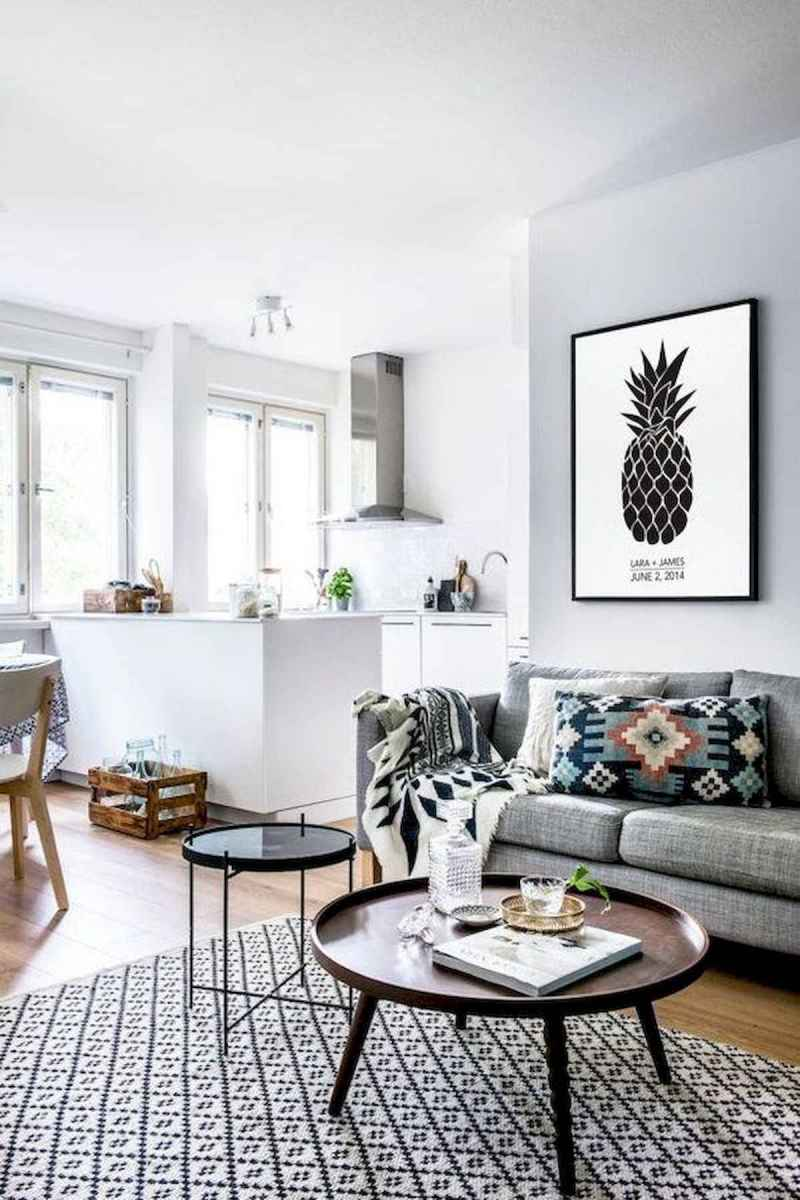 50+ Genius Small Living Room Decor Ideas And Remodel for Your First Apartment (20)