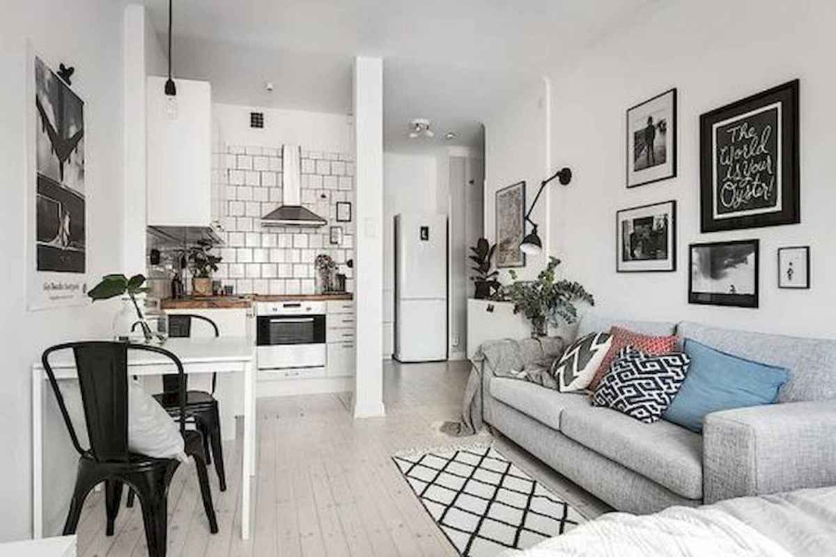 50+ Genius Small Living Room Decor Ideas And Remodel for Your First Apartment (6)