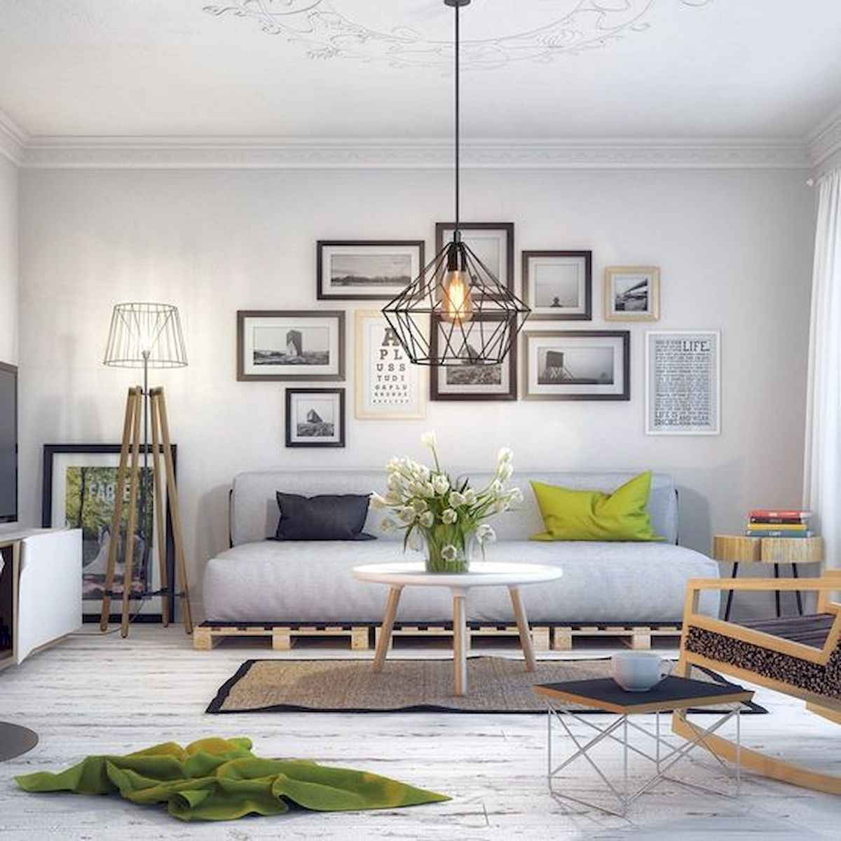 50+ Genius Small Living Room Decor Ideas And Remodel for Your First Apartment (7)