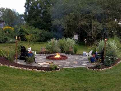 50 Magical Outdoor Fire Pit Design Ideas (48)