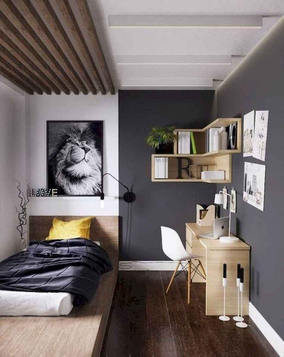 50 Stunning Small Apartment Bedroom Design Ideas and Decor (47)