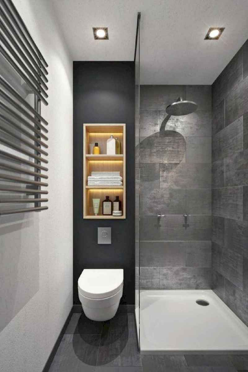 50 Stunning Small Bathroom Makeover Ideas (49)