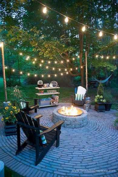 60 Creative Backyard Fire Pit Ideas (35)
