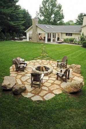 60 Creative Backyard Fire Pit Ideas (50)