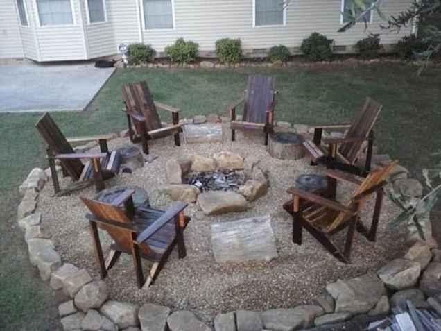 60 Creative Backyard Fire Pit Ideas (57)
