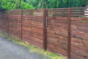 60 Gorgeous DIY Projects Pallet Fence Design Ideas (36)