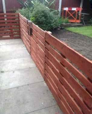 60 Gorgeous DIY Projects Pallet Fence Design Ideas (38)