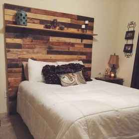 60 Most Creative DIY Projects Pallet Headboards Bedroom Design Ideas (12)