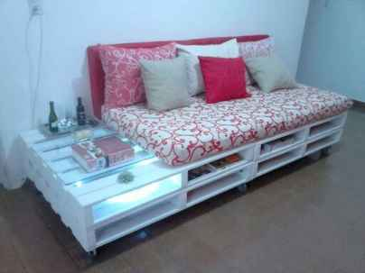 60 Stunning DIY Projects Pallet Sofa Design Ideas (52)