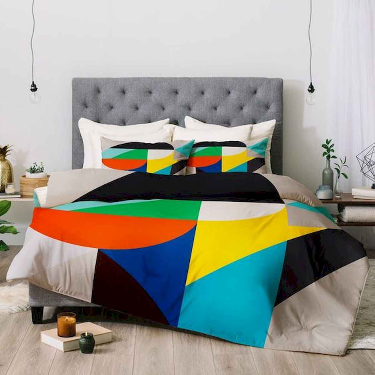 70+ Amazing Colorful Bedroom Decor Ideas And Remodel for Summer Project (63)