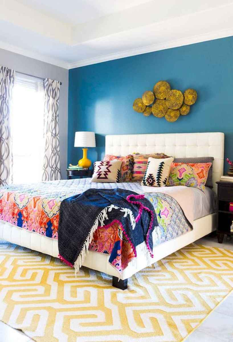 70+ Amazing Colorful Bedroom Decor Ideas And Remodel for Summer Project (73)